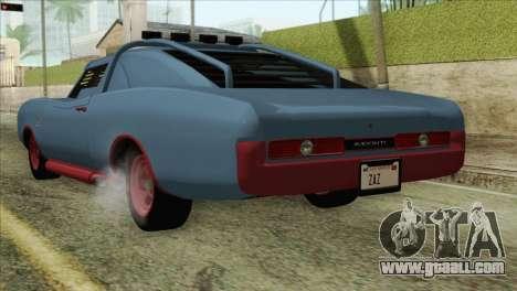 GTA 5 Imponte Dukes ODeath HQLM for GTA San Andreas left view