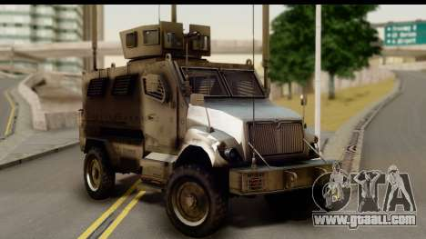 International MaxxPro MRAP for GTA San Andreas