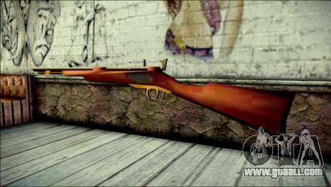 Tokisaki Kurumi Rifle for GTA San Andreas second screenshot