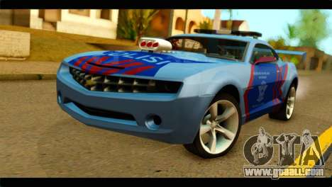 Chevrolet Camaro Indonesia Police for GTA San Andreas