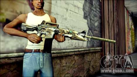 M4A1 Transformer CrossFire for GTA San Andreas third screenshot