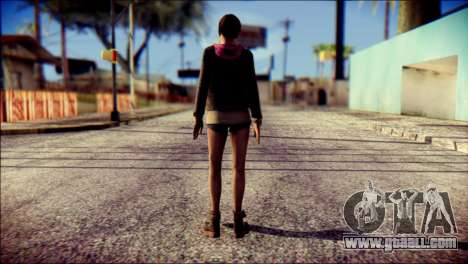 Moira Burton from Resident Evil for GTA San Andreas second screenshot