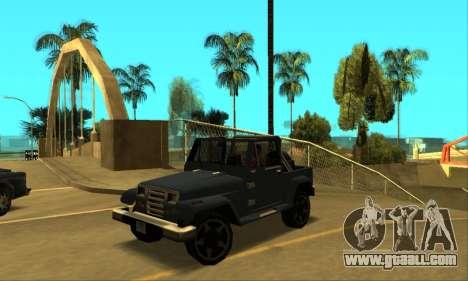 Mesa Final for GTA San Andreas left view