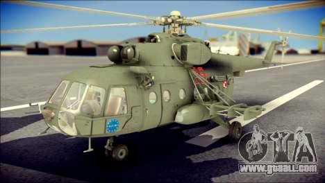Mil Mi-8 Polish Air Force EUFOR for GTA San Andreas