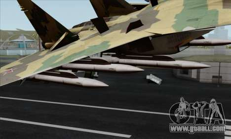 SU-35 Flanker-E ACAH for GTA San Andreas right view