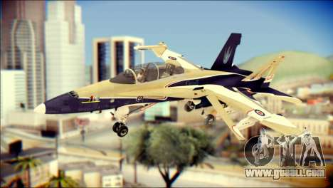 FA-18D Hornet RCAF for GTA San Andreas