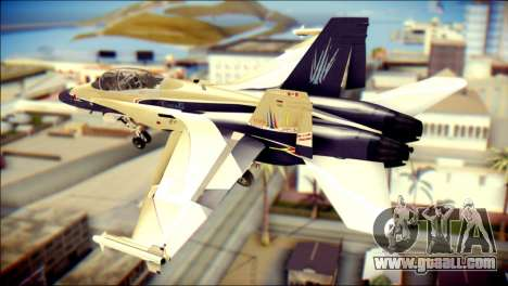 FA-18D Hornet RCAF for GTA San Andreas left view