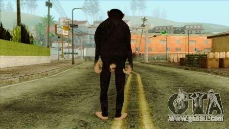 Monkey Skin from GTA 5 v1 for GTA San Andreas second screenshot