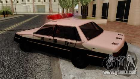 Karin Primo Police for GTA San Andreas left view