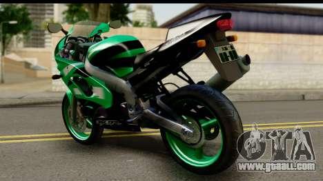 Kawasaki ZX-9R for GTA San Andreas left view