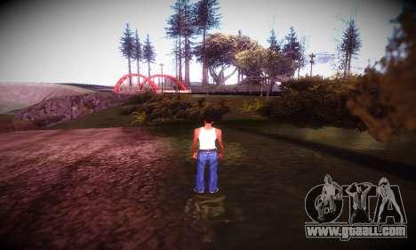 Ebin 7 ENB for GTA San Andreas fifth screenshot