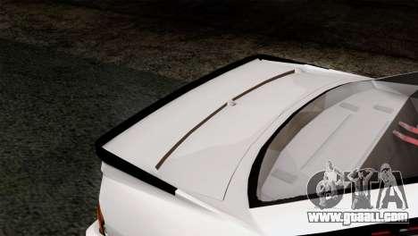 Opel Manta 400 v2 for GTA San Andreas back view
