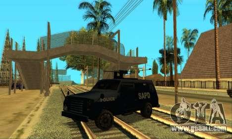Beta FBI Truck for GTA San Andreas left view