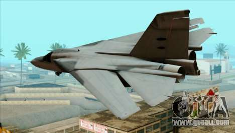 General Dynamics F-111 Aardvark for GTA San Andreas left view