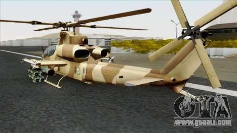 AH-1Z Viper IRIAF for GTA San Andreas left view