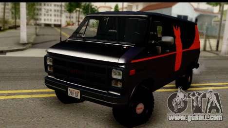 GMC Vandura G-1500 Payday 2 for GTA San Andreas