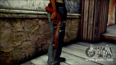 Tokisaki Kurumi Desert Eagle for GTA San Andreas third screenshot