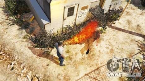 GTA 5 Fire-breathing second screenshot