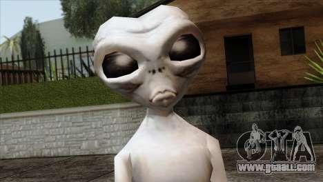 Zeta Reticoli Alien Skin from Area 51 Game for GTA San Andreas third screenshot