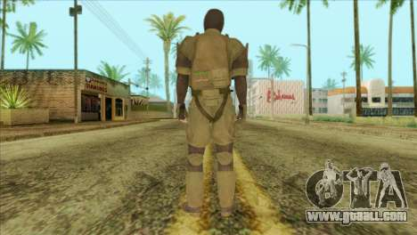Metal Gear Solid 5: Ground Zeroes MSF v2 for GTA San Andreas second screenshot