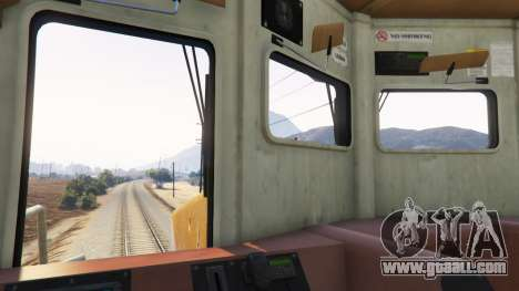 Train driver for GTA 5