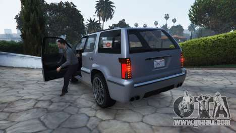 The style of GTA 4 getting out of the vehicle for GTA 5