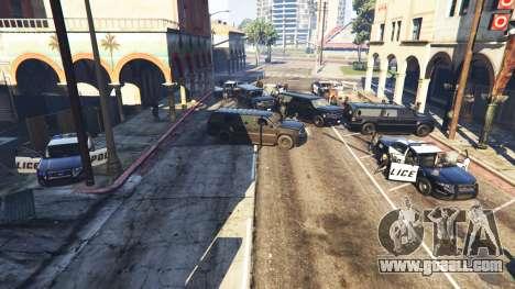 GTA 5 Hardcore Police Chasing second screenshot
