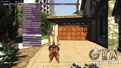 GTA 5 Skin Control v1.1 third screenshot