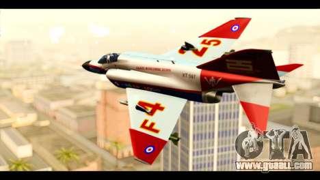 McDonnell Douglas F-4E Phantom II for GTA San Andreas left view