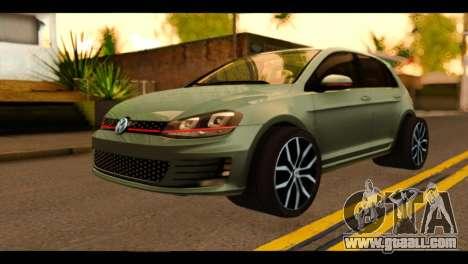 Volkswagen Golf Mk7 2014 for GTA San Andreas