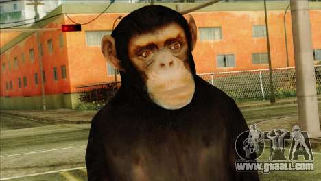 Monkey Skin from GTA 5 v1 for GTA San Andreas third screenshot