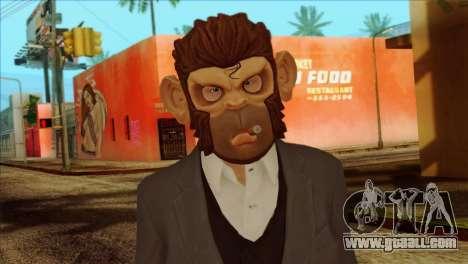 Skin from GTA 5 for GTA San Andreas third screenshot
