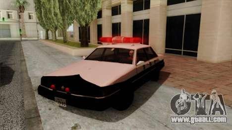 Karin Primo Police for GTA San Andreas