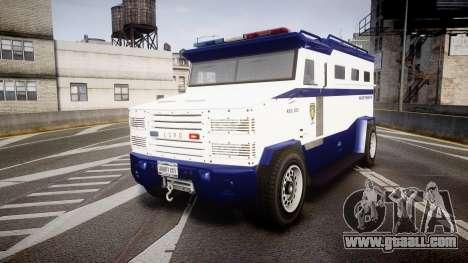 GTA V Brute Police Riot [ELS] skin 3 for GTA 4