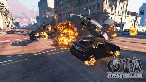 GTA 5 The undermining of the vehicle fourth screenshot