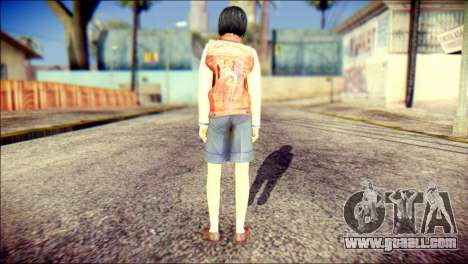 Sofia Child Skin for GTA San Andreas second screenshot