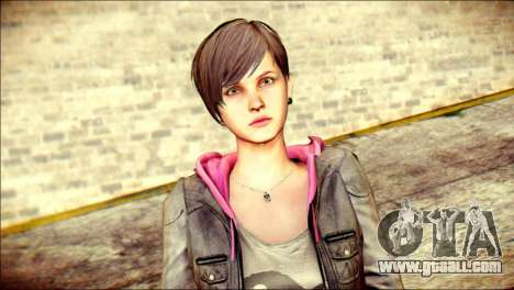 Moira Burton from Resident Evil for GTA San Andreas third screenshot