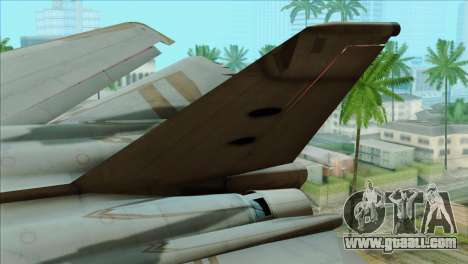 General Dynamics F-111 Aardvark for GTA San Andreas back left view