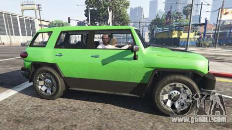 The passenger v0.1 for GTA 5