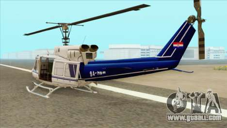 Agusta-Bell AB-212 Croatian Police for GTA San Andreas left view