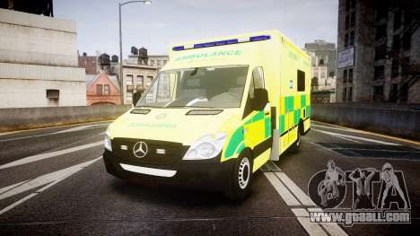 Mercedes-Benz Sprinter Ambulance [ELS] for GTA 4