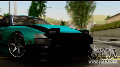 Nissan 200SX S13 Skin for GTA San Andreas back left view