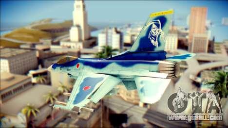 Mitsubishi F-2A JASDF v3.0 for GTA San Andreas left view