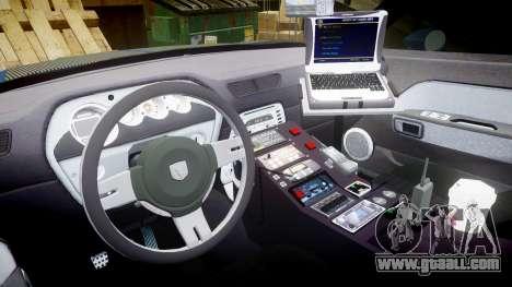 Dodge Challenger RT 2006 Pursuit Vehicle [ELS] for GTA 4 back view