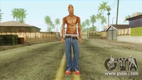 Tupac Shakur Skin v3 for GTA San Andreas