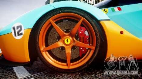 Ferrari LaFerrari 2013 HQ [EPM] PJ1 for GTA 4 back view