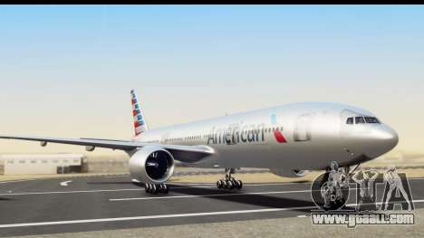 Boeing 777-200ER American Airlines for GTA San Andreas
