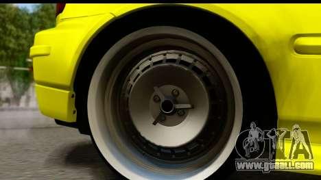 Honda Civic 1.4 Taxi for GTA San Andreas back view