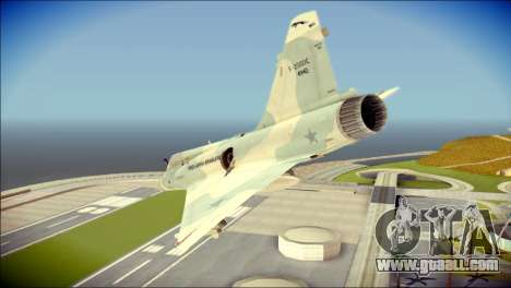 Dassault Mirage 2000-C FAB for GTA San Andreas
