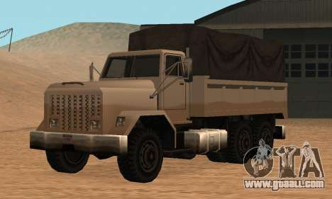 Barracks Fixed for GTA San Andreas